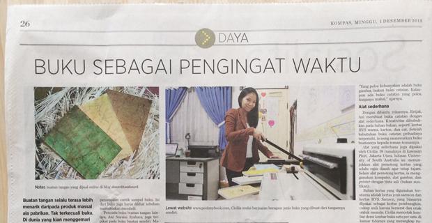Kompas newspaper - 1 December 2013