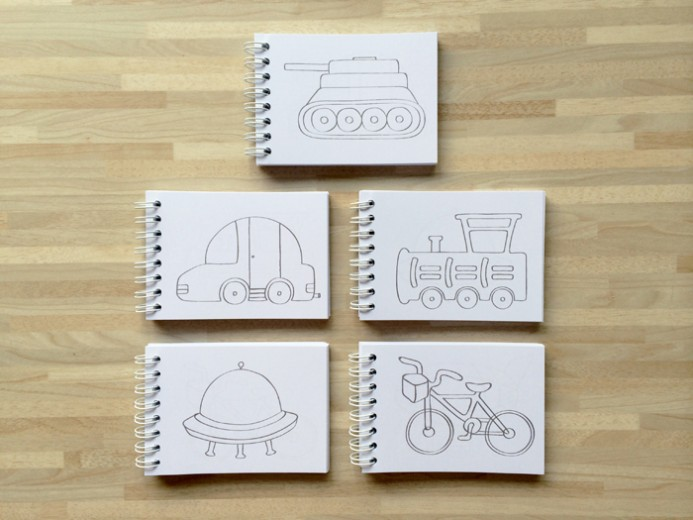 Transportation coloring book 7