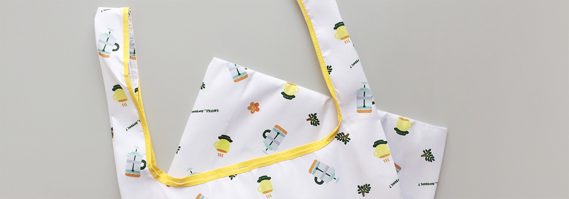 Coffee Anyone Shopping Bag Banner